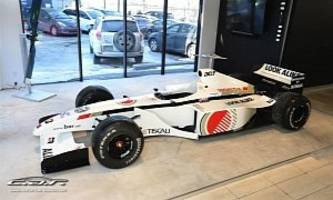 bar 01 formula 1 racing car listed for sale, engine not included