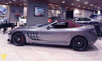 rare mercedes-benz slr mclaren roadster 722 s could be yours for $745,000