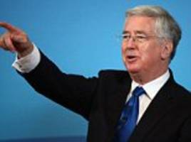 michael fallon accuses tech firms of acting the enemy
