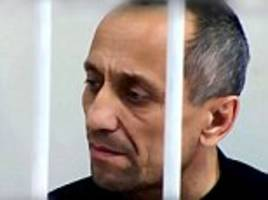 russia's worst serial killer tells of his double life
