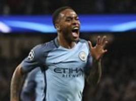 raheem sterling fit for man city's clash with arsenal