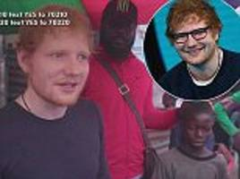 ed sheeran pays for safe home for raped liberian boys