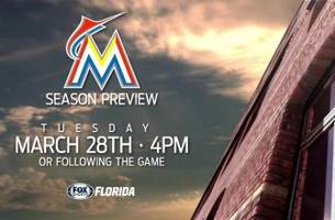 fox sports florida's 'miami marlins season preview' sneak peek