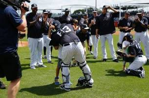 yankees pull off military family reunion with an incredible baseball touch