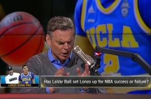 Is LaVar Ball setting Lonzo Ball up for success or failure in the NBA?   THE HERD