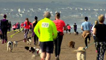 Portstewart Strand hosts 'Waggy Races'
