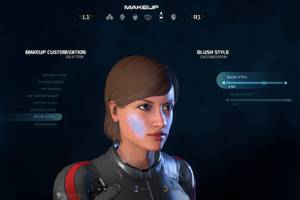 Mass Effect: Andromeda's makeup options range from 'bad Bowie' to 'DIY Halloween mishap'