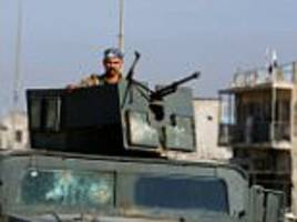 Iraqi forces kill 10 ISIS chiefs in Mosul air strikes