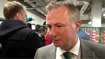 michael o'neill on massive games facing northern ireland