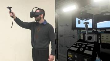 NASA ISS Astronauts Train in Augmented Reality