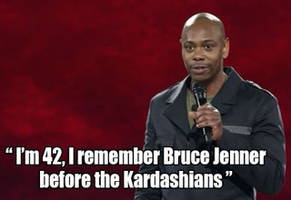 Dave Chappelle On Bruce Jenner's Transition Into Caitlyn Jenner