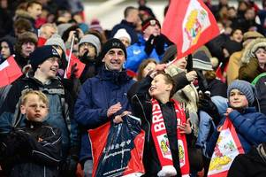bristol city fans are set for a late night as brighton and hove albion game is selected for sky sports tv