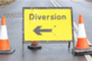 Roadworks on A30 and M5 in Devon this week
