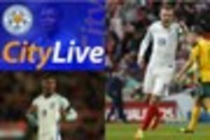 live leicester city news: vardy's black eye, gray's release...