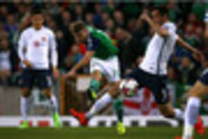 Nottingham Forest's Jamie Ward helps Northern Ireland into 'great...