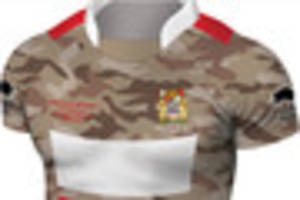 Take a look at Painswick's brand new army camoflage shirt
