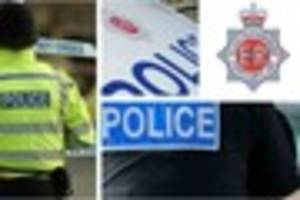 car overturns on main road through forest of dean town