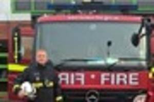 An off-duty Biggin Hill firefighter saved a man's life at a St...