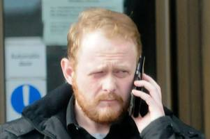 cumnock dad drove on pavement and hit bus outside greenmill primary school during morning run road rage spree