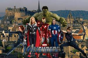 Marvel movie bosses reveal Edinburgh will take centre stage in blockbuster film for first time in Avengers: Infinity War