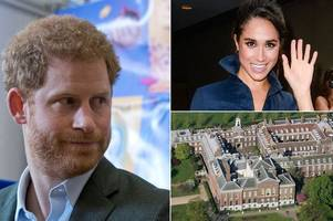Prince Harry 'to move girlfriend Meghan Markle into Kensington Palace apartment - and he's in a hurry'