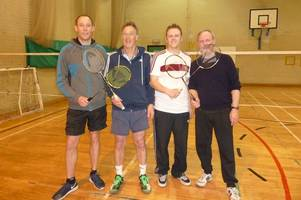 Stewartry Badminton League round off season with gents and ladies doubles tournaments