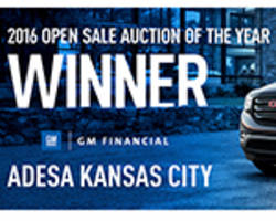 GM Financial Names ADESA Kansas City 2016 Open Sale Auction of the Year