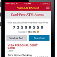 Wells Fargo Launches 13,000 Card-Free ATMs for Its 20 Million Mobile Customers