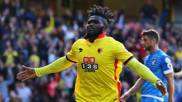 watford's isaac success aims for world cup with nigeria