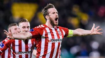 arsenal donating to auction for derry city captain ryan mcbride