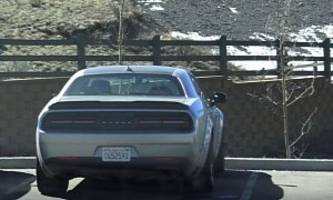 2018 Dodge Challenger Demon Shows Up in Colorado, Almost Ready for Production