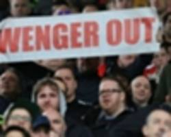 'wenger out' goes global as banner spotted at new zealand vs fiji game