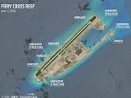 Beijing completes work on South China Sea military bases