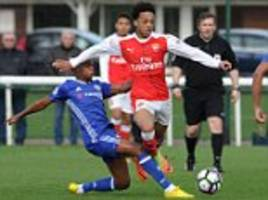 arsenal fear losing chris willock to premier league rivals