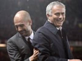 man utd boss jose mourinho will earn double pep guardiola