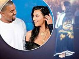 Kim Kardashian reveals greeting to Kanye after concerts