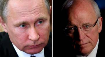 dick cheney: russian interference an act of war