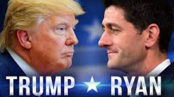 the next clash emerges: trump-ryan deeply divided over tax 'cuts'