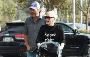 gwen stefani and blake shelton hold off marriage: they're just happily dating