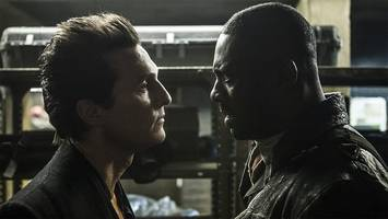 idris elba and matthew mcconaughey confront each other in 'the dark tower' first footage