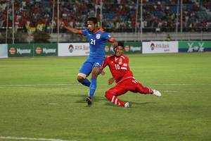 2019 afc asian cup qualifiers: india beats myanmar by 1-0