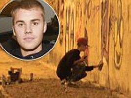 Justin Bieber faces ARREST in Brazil for painting graffiti