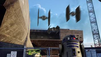 the force is strong with dundee v&a star wars tribute video