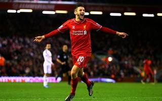 Blow for Liverpool as Adam Lallana ruled out for a month