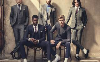Well-dressed: Moss Bros' share price climbs as profit jumps 20 per cent