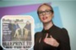 hull apprentice star michelle dewberry appears on sky news to...