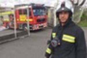 Warning after rescue from smoke-filled Exeter flat