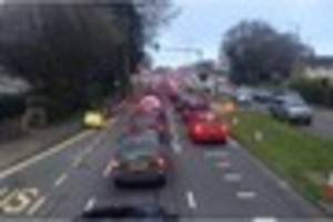 Misery for Plymouth bus passengers as congestion forces...