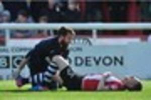 Paul Tisdale gives injury update on Exeter City duo Jake Taylor...