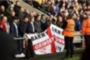 increased police presence planned at town's match with doncaster...